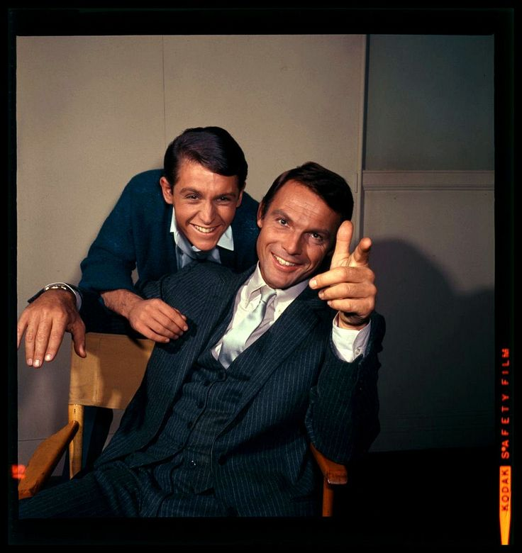 Burt Ward and Adam West.  A stunning photograph.  From Harald Haefker's Flickr.
