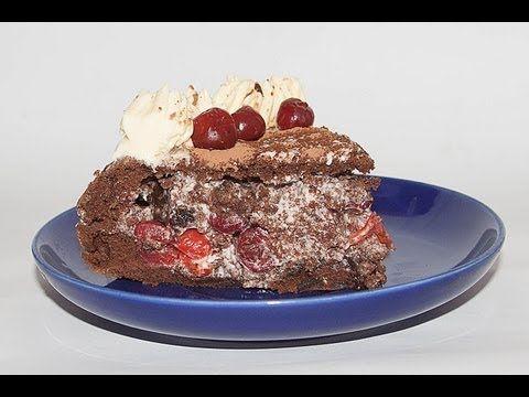 Торт «Пьяная» Вишня видео рецепт