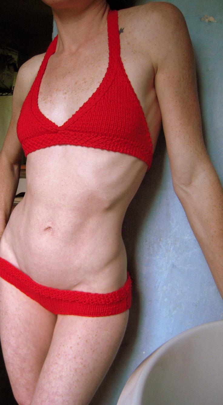 Knit Bikini Pattern : Cheeky Knit Bikini Pattern