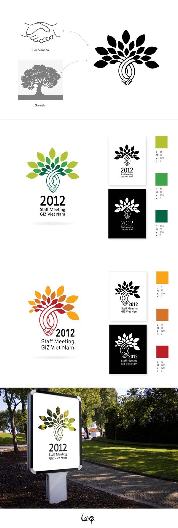 Diseno de logotipo. Excelente trabajo... logo / GIZ staff meetin' 2012 by Vu…