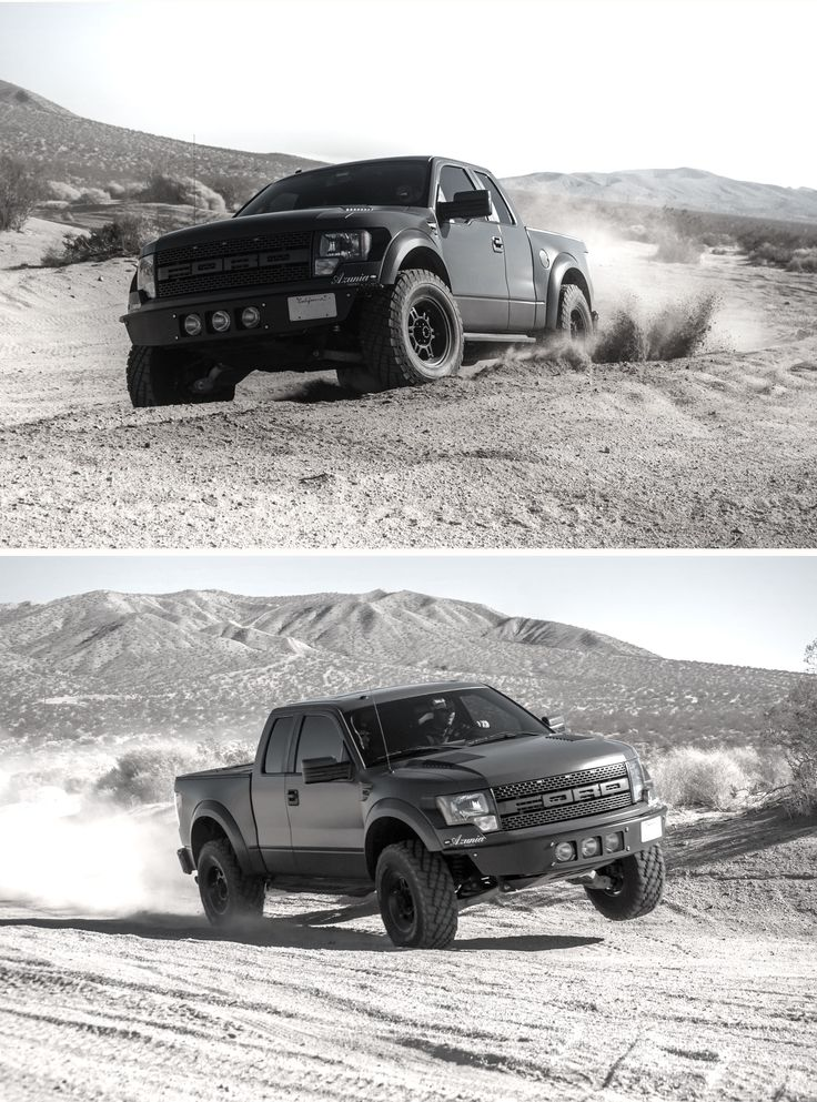 Ford Raptor. My all time favorite truck!! I'm in love, I'd never drive any truck but this beauty.