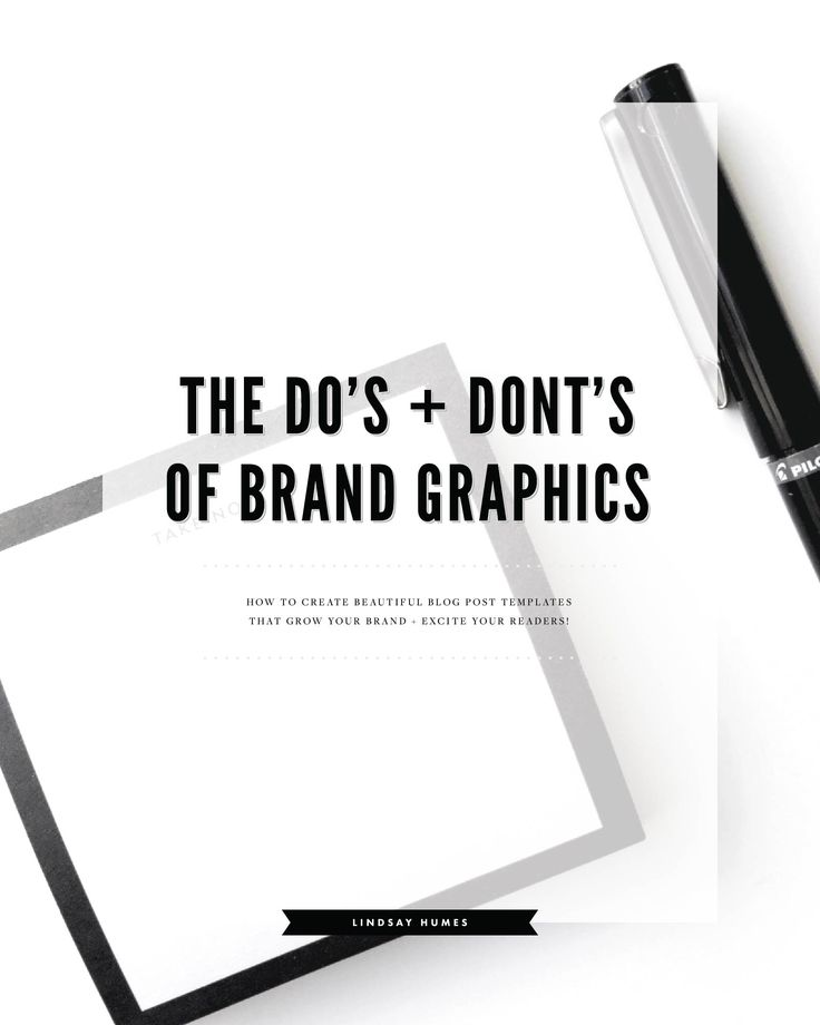The Do's + Don'ts of Creating Pinterestworthy Blog Post Graphics, how to create social media and blog post templates