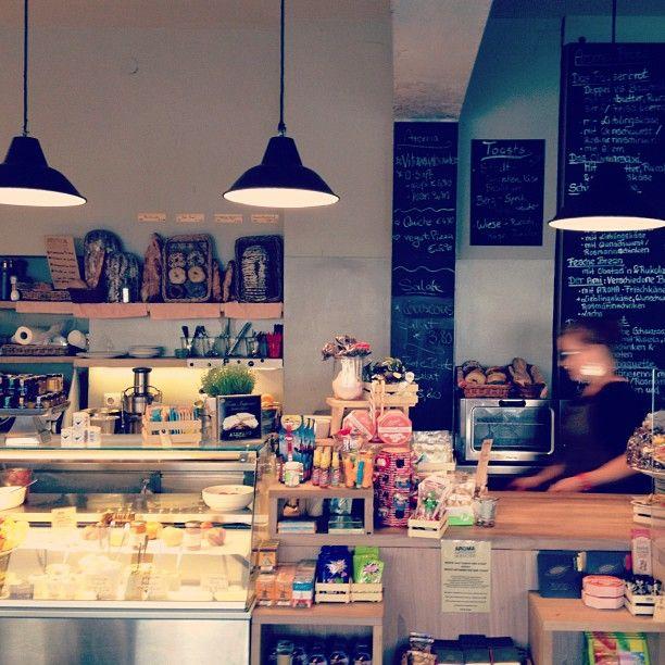 Aroma Kaffeebar im Glockenbachviertel.