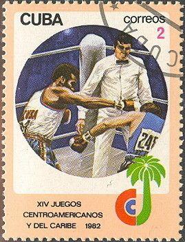 Znaczek: Boxing (Kuba) (Central American and Caribbean Games) Mi:CU 2676