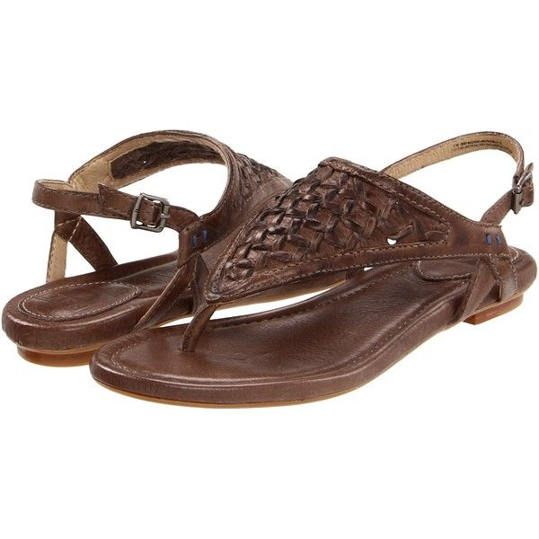 Frye Madison Woven ($111) ❤ liked on Polyvore featuring shoes, sandals, flats, zapatos, sapatos, vintage flats, flat shoes, braided sandals, frye sandals and leather flats