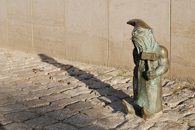 one of Wrocław's gnome :) by kfas, via Flickr