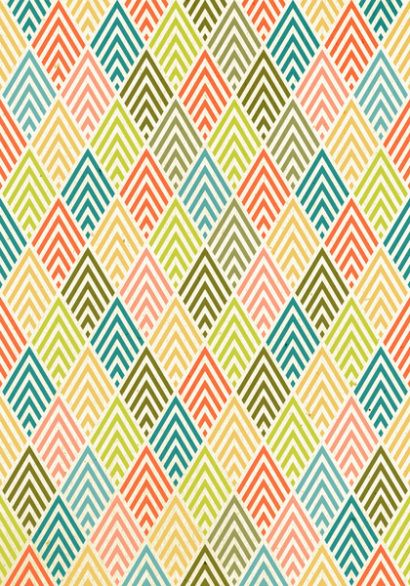 PATTERN AND RHYTHM- Triangles, diamonds, and color schemes are being repeated. This creates a very solid, stylish modern feel.
