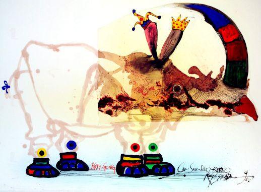 Ralph+Steadman+Gonzo+Art   Ralph Steadman Art Collection 2011   Information on Copyright ...