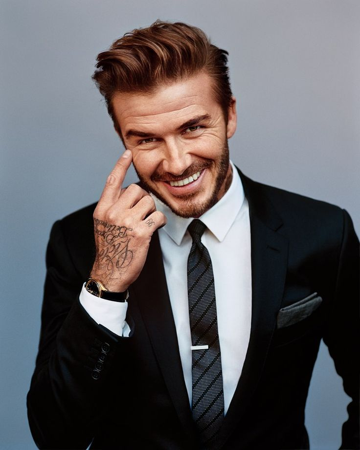 "itsdavidbeckham: "" David Beckham // GQ (April, 2016) """
