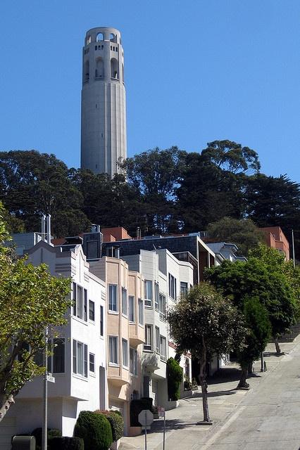 San Francisco - Telegraph Hill: Coit Tower