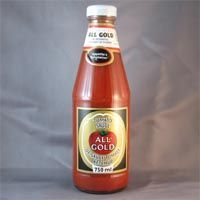 All Gold Tomato Sauce (Kosher) 700ml (BEST BY 2016)