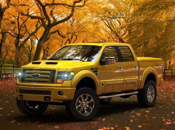 Wow! Check this out! 2014 Ford F-150 Tonka Edition hits the road - Kelley Blue…