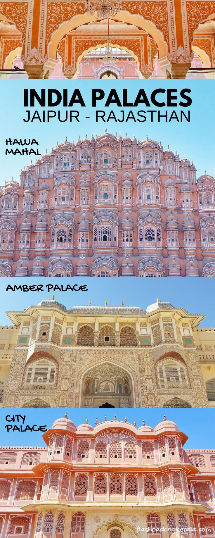 3 days in Jaipur itinerary with PINK spots! 👑 BEST places to