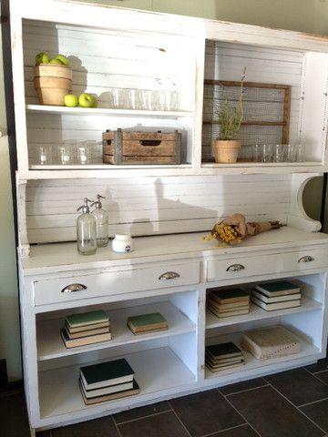 Joanna Gaines's Blog | HGTV Fixer Upper | Magnolia Homes...a repurposed hutch