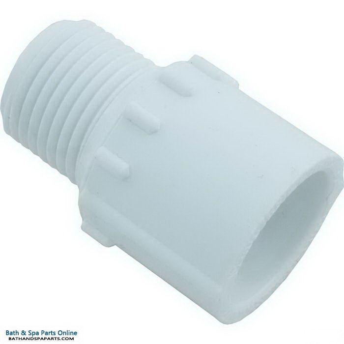 "Lasco SCH40 MIP PVC Adapter [1/2"" Slip x MPT] (436-005)"