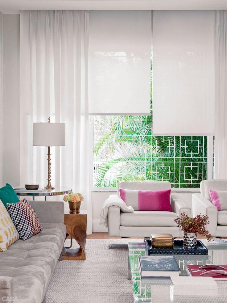 25 melhores ideias sobre cortinas modernas no pinterest tratamentos modernos para janela - Cortinas contemporaneas ...