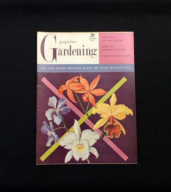 Popular Gardening Magazine October 1956 Volume 7 No 10