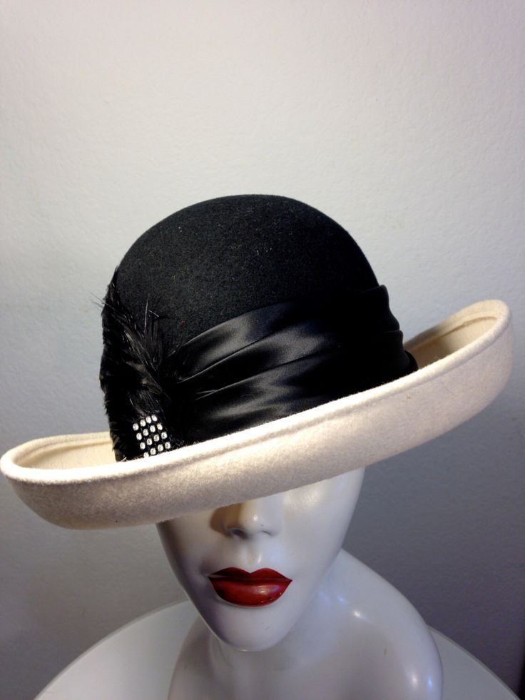 FREE  SHIPPING  1960's Large Feather Color Block Hat by VintageRevengCouture on Etsy https://www.etsy.com/listing/206188298/free-shipping-1960s-large-feather-color
