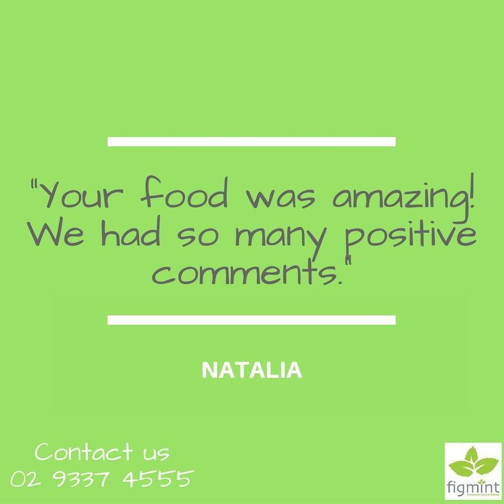 """Your food was amazing! We had so many positive comments."" - Natalia  Do you want your guests to have the same amazing food experience on your party? Contact us at 02 9337 4555.  #figmintcatering #sydneycaterer #thehighheeledhostess"