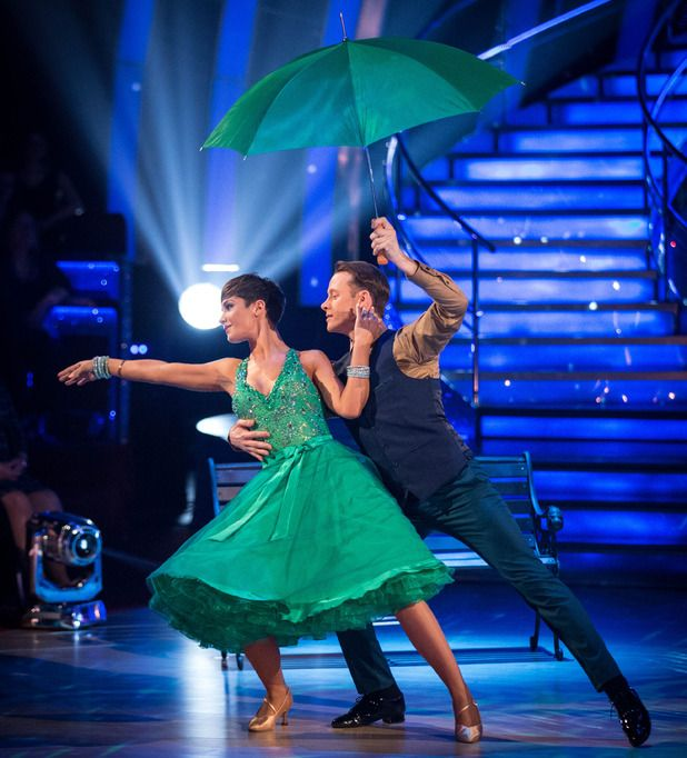 Frankie Bridge and Kevin Clifton on Strictly Come Dancing 2014: Week One, Show Two