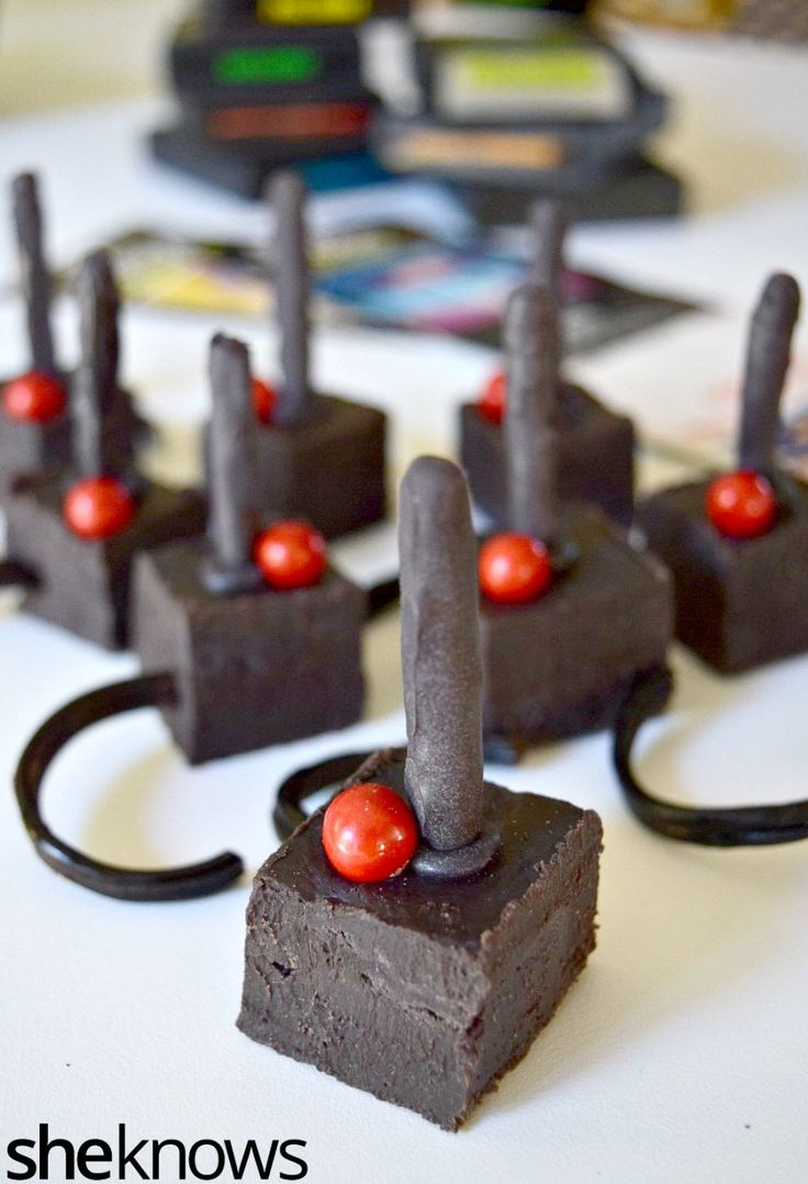Celebrate National Video Game Day with these sweet treats — totally edible Atari joysticks