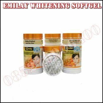 Obat Pemutih Kulit Badan Emilay Whitening Softgel Adalah Salah Satu Produk Perawatan Kulit Terbaik Dengan Bahan Herbal Tanpa Efek Samping Yang Negatif.