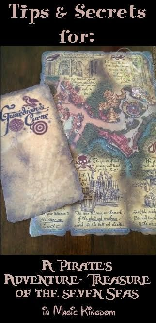 On your next Walt Disney World trip, check out A Pirate's Adventure – Treasures of the Seven Seas in Magic Kingdom