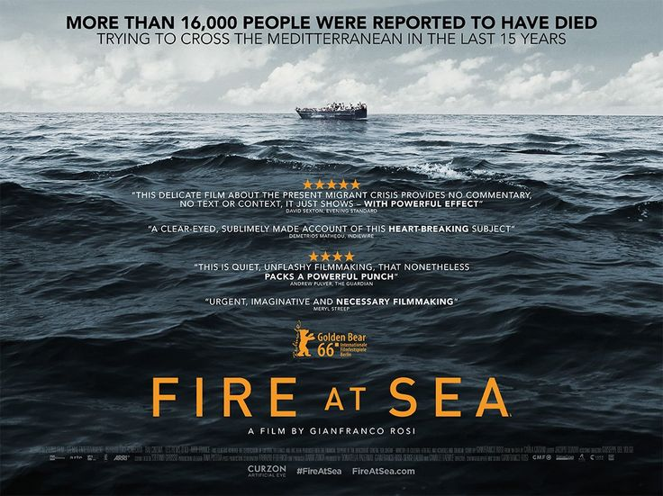 Fire at Sea documentary film poster