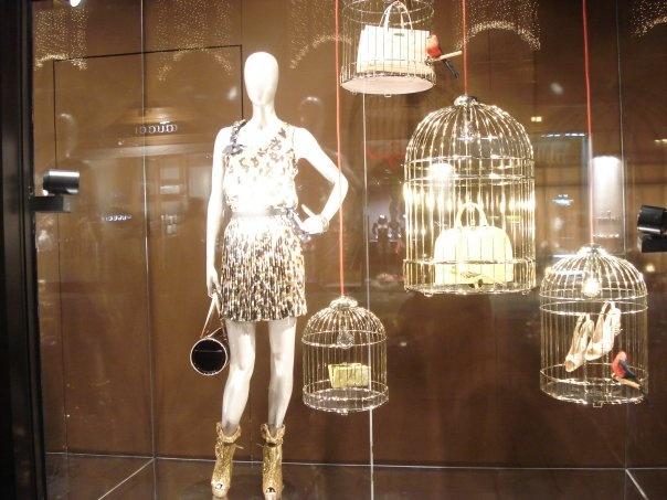 Louis Vuitton shop window, Vienna