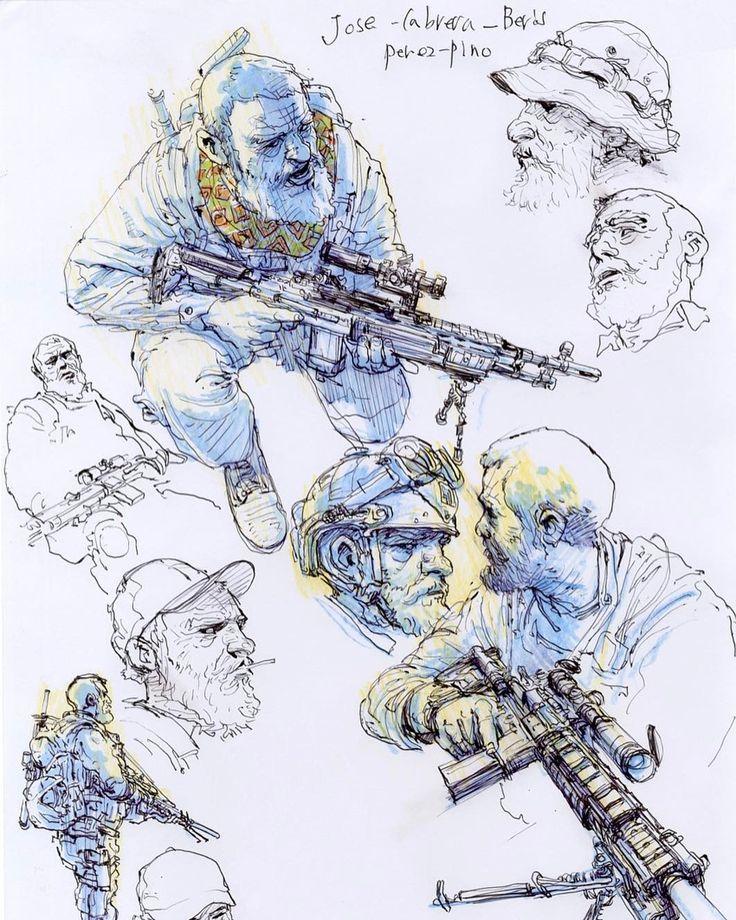 23.8 тыс. отметок «Нравится», 38 комментариев — Kim Jung Gi US (@kimjunggius) в Instagram: «Spy Games #kimjunggi x @jdmorvan #comics #sketch #drawing #illustration #artwork #spygames»