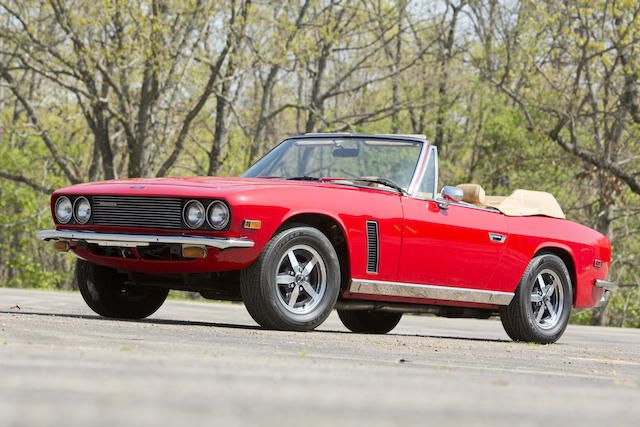 <b>1975 Jensen Interceptor III Convertible </b><br />Chassis no. 23111623