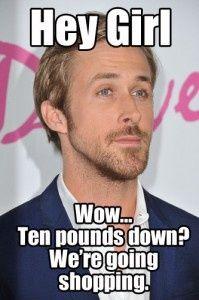 The Best Ryan Gosling Hey Girl Diet Memes - HCG Diet Blog - HCG Diet Blog
