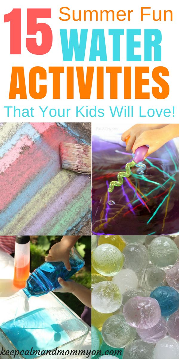 Water Play, Water Activities For Kids, Sensory Activities, Sensory Bins, Activities For Toddlers, Activities For Preschoolers, Making Learning Fun
