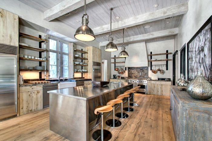 Les 580 meilleures images propos de cuisine sur for Cuisine wood fashion