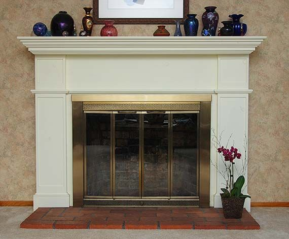 fireplace mantels | Easy Decorating of Fireplace Mantel with Interesting  Display Items