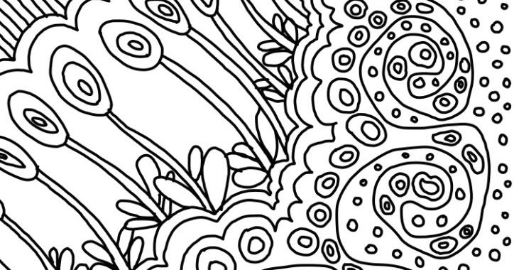Examples of motif Free sketch drawing pattern for graphic design