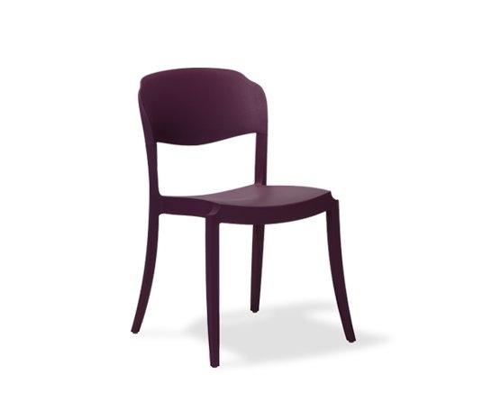 $520 Cadeira Strass Ameixa - Cadeiras na Oppa