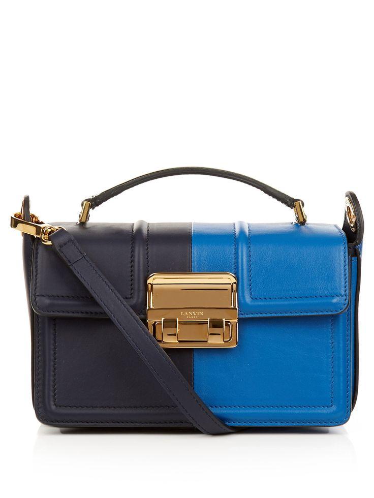 Shoulder Bag for Women On Sale, Emerald Green, Leather, 2017, one size Lanvin