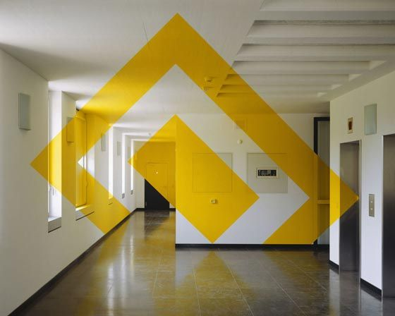 Geometric Perspectives and Anamorphic Painting by FELICE VARINI