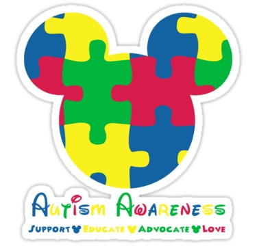 autism speaks coloring pages - autism awareness autism and mickey mouse on pinterest