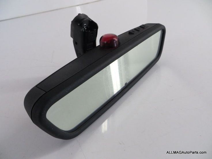 2003-2005 Range Rover Interior Rear View Mirror w/ Homelink 11 CTB000051 HSE L322