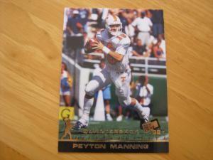 Peyton Manning Rookie Card Checklist: 1998 Press Pass Peyton Manning