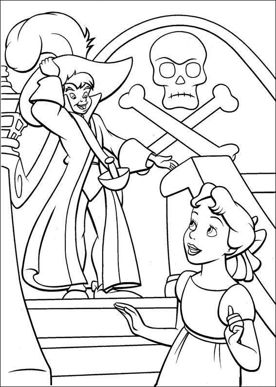 Peter Pan Kleurplaten 39