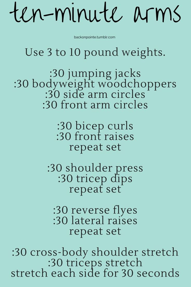 Grab a pair of dumbbells and work the muscles in your arms and shoulders!