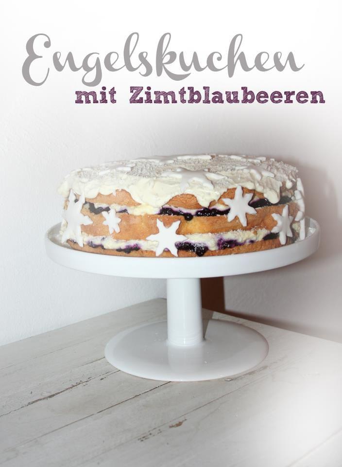 engelskuchen mit zimtblaubeeren by dinchensworld.wordpress.com
