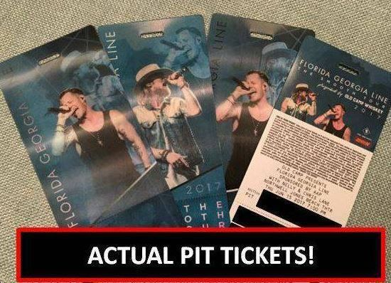 #tickets 4 Florida Georgia LIne Tickets Jones Beach - PIT tickets 6/15/17 - Holographic! please retweet