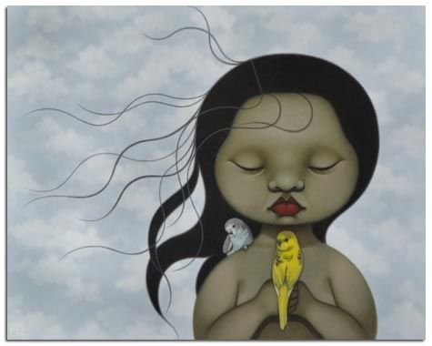 I love this painting by Poh Ling Yeow