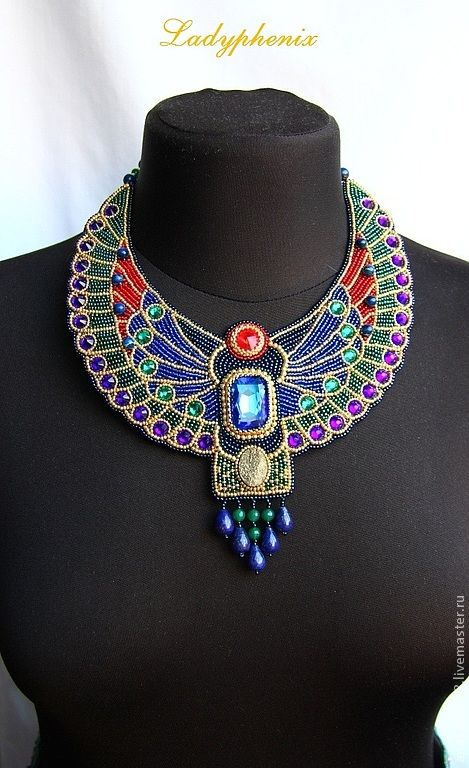 """Buy Necklace """"On the banks of the Nile"""" - necklaces, handmade jewelry, decoration"""