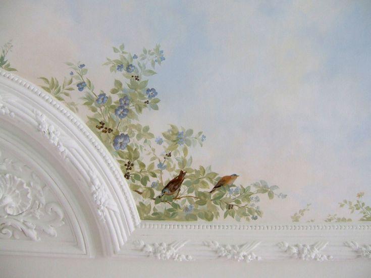 11 best PEINTURE FAUX CIEL PLAFOND images on Pinterest Ceiling