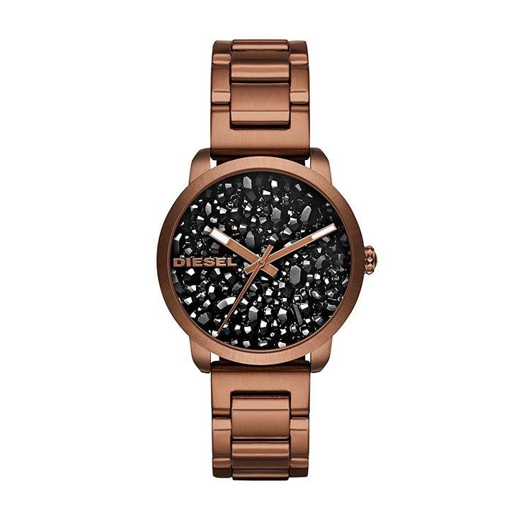 Diesel Damen-Armbanduhr DZ5560 super coole Armbanduhr für Frauen, tolle Geschenkidee #Weihnachten #Geschenkidee #Frauen #Uhr #Armbanduhr #Diesel #Ad #XMAS
